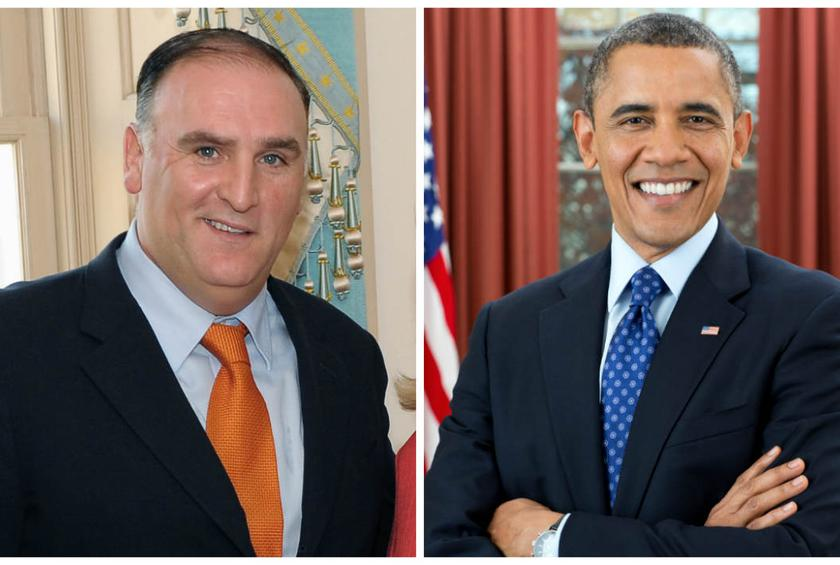 José Andrés, a known humanitarian, became a U.S. citizen in 2013.
