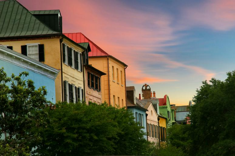 South Carolina – Rainbow Row in Charleston