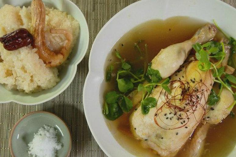 Magical chicken ginseng soup recipe by judy joo magical chicken ginseng soup cooking channels korean food made simple forumfinder Image collections
