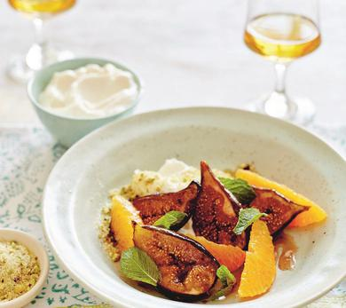 Sweet Orange and Fig Salad