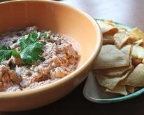 Creamy White Bean and Olive Dip