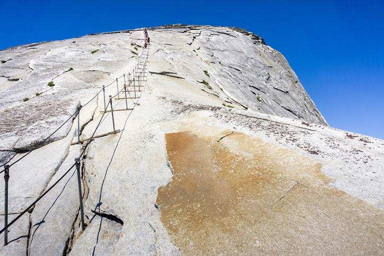 Half Dome Cable Route, Yosemite National Park, California