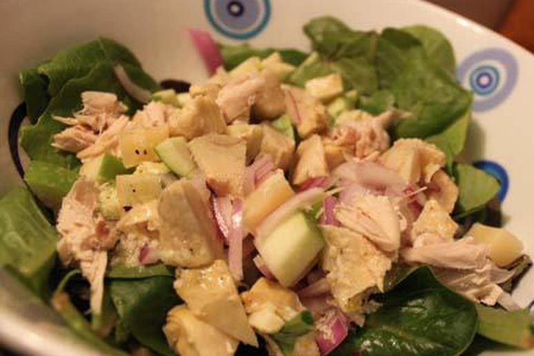 Chicken and Granny Smith Apple Salad