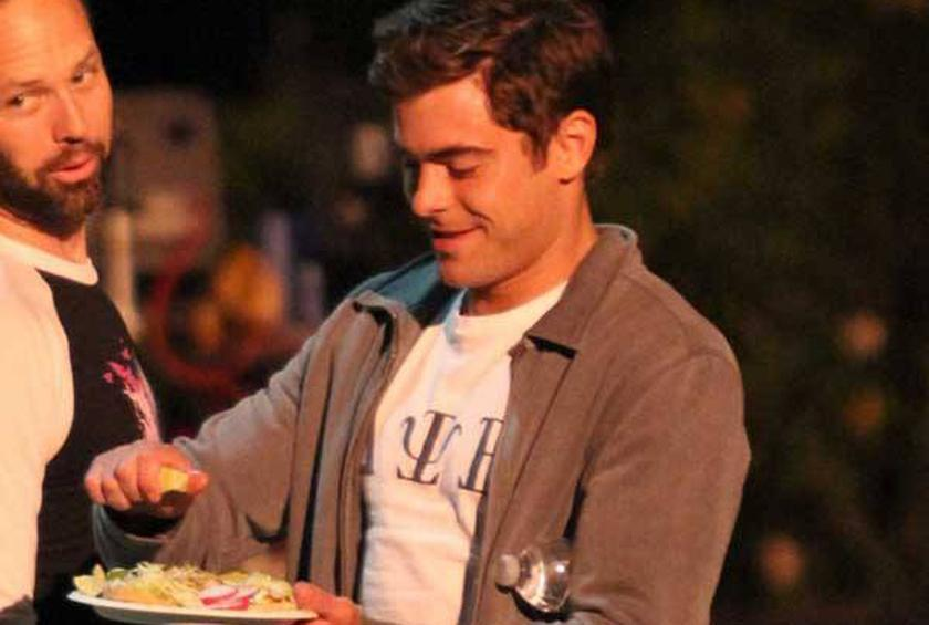 Zac Efron Snacks On Tacos And More Celebrity News