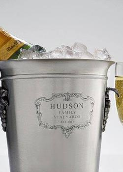 A nice ice bucket from Red Envelope