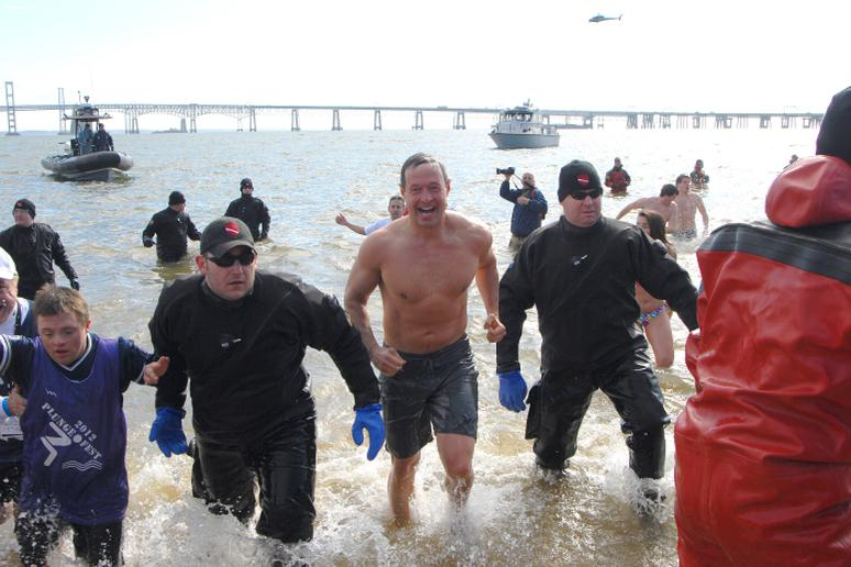 MSP Polar Bear Plunge in Maryland