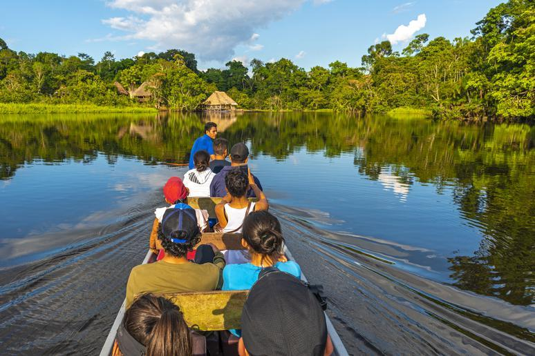Explore the Amazon in South America