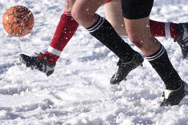 10. There's been an Arctic soccer match