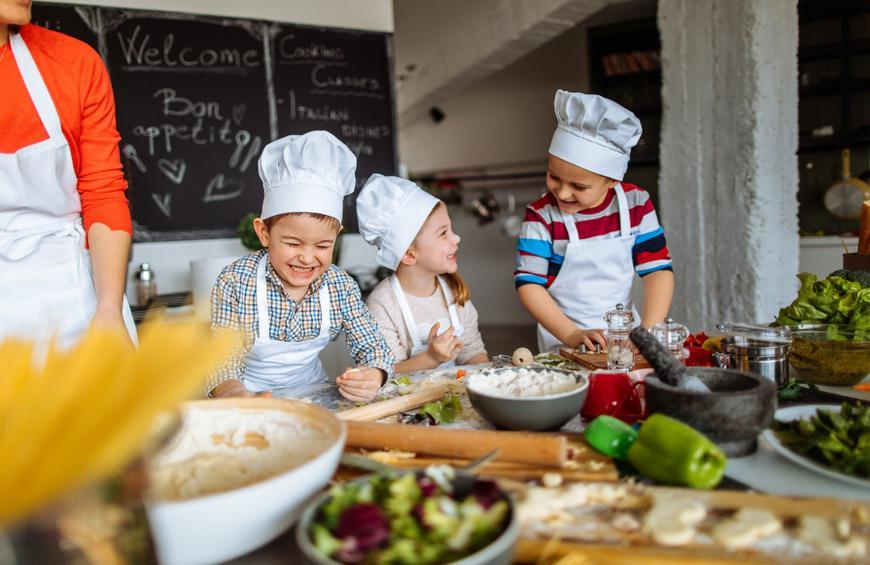 The Definitive Guide for Kids Cooking
