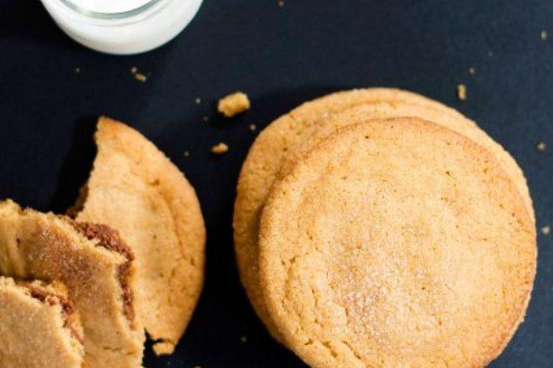 Spicy Chocolate-Filled Peanut Butter Cookies