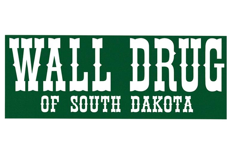 Bumper sticker from Wall Drug