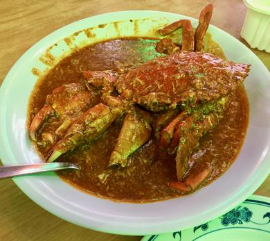 Swimming in luscious chili sauce, Chili Crab was named #35 on CNN's list of the world's most delicious dishes