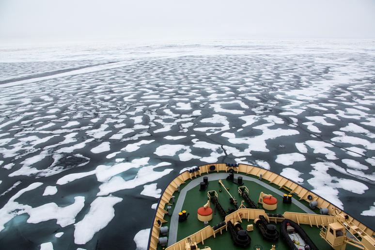 14. The North Pole is considered international waters