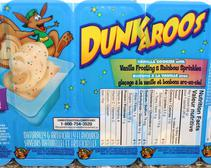 Along with Gushers and Crystal Pepsi, Dunkaroos were one of the most popular snacks of the '90s.