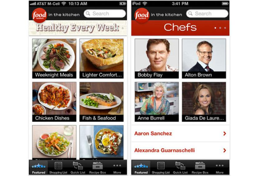 15 best cooking apps for your smartphone slideshow food network in the kitchen forumfinder Image collections