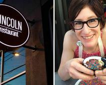 Jenn Louis and her husband own and operate Lincoln Restaurant together.