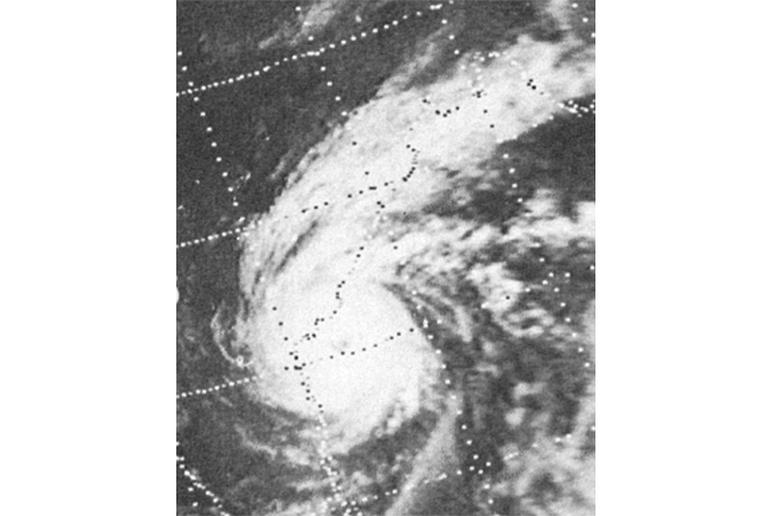 Andhra Pradesh Cyclone, India, 1977