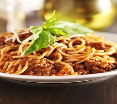 Eggplant Bolognese with Wine