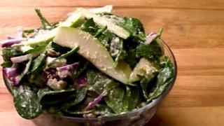 Spinach Salad With Pears