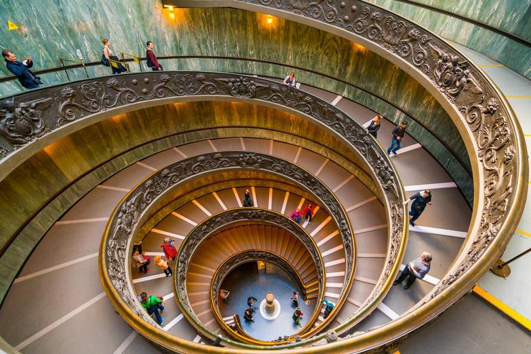 Take a tour of the Vatican Museums in Vatican City