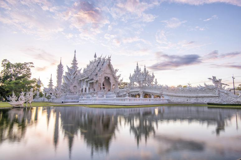 Wat Rong Khun Although it's built in the style of a Buddhist temple, Wat Rong Khun is actually a privately owned art exhibit in the northern Thai province of Chiang Rai. The White Temple, as it's also known to foreigners, has been open since 1997 after lo