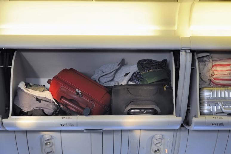 Hogging the Overhead Compartment