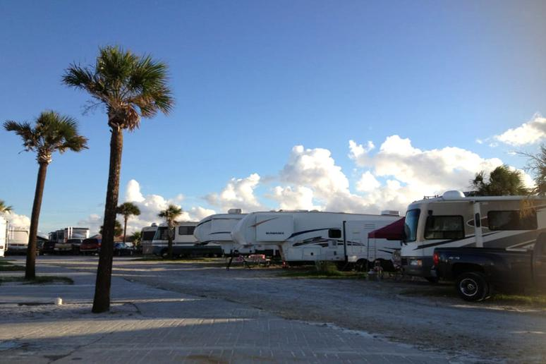 Camp Gulf Holiday Travel Park, Florida