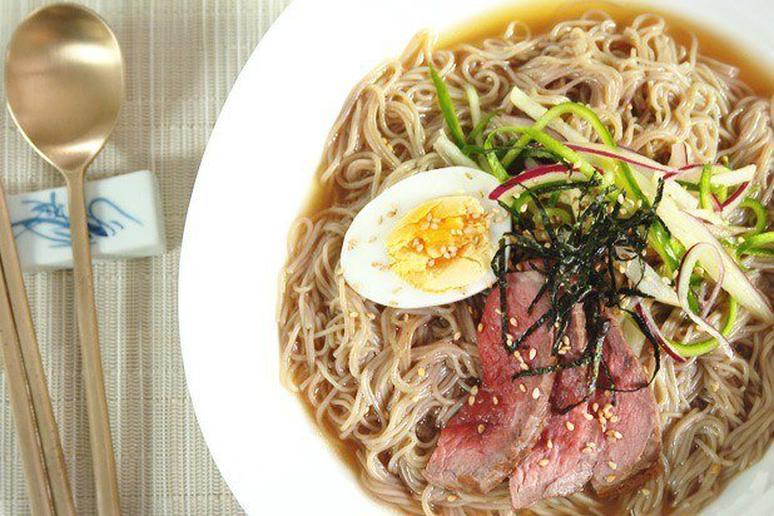 Naengmyeon Ice-Cold Noodles