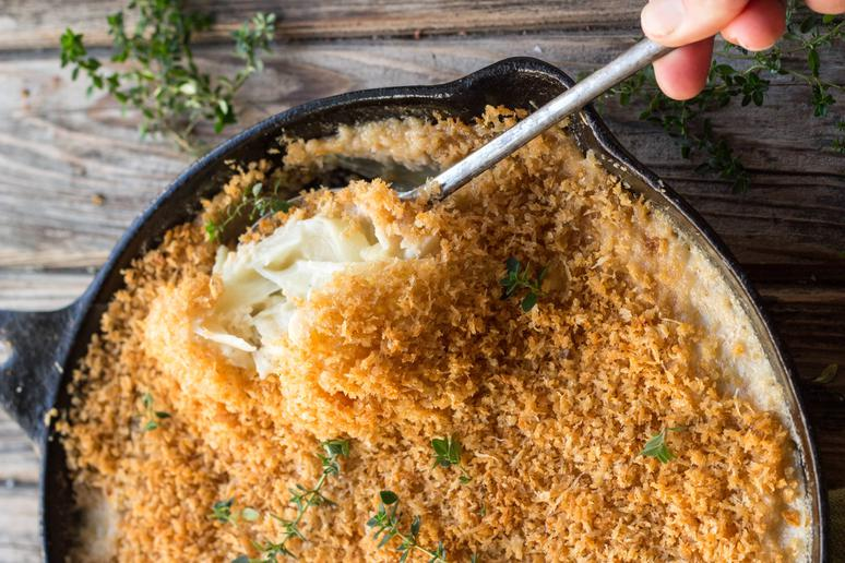 Fennel and Onion Gratin