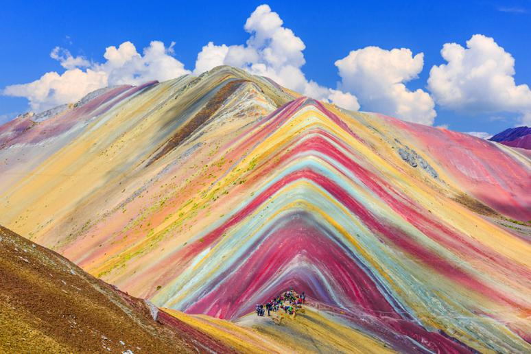 40. The Rainbow Mountains, China