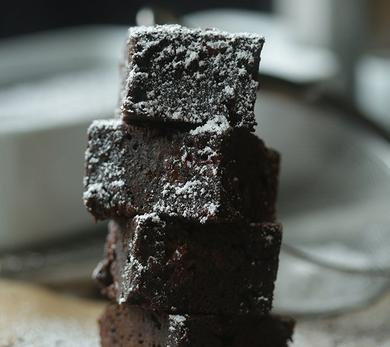 Leftover Coffee Chocolate Brownies