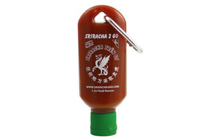 This Tiny Sriracha To-Go Bottle is the Perfect Gift