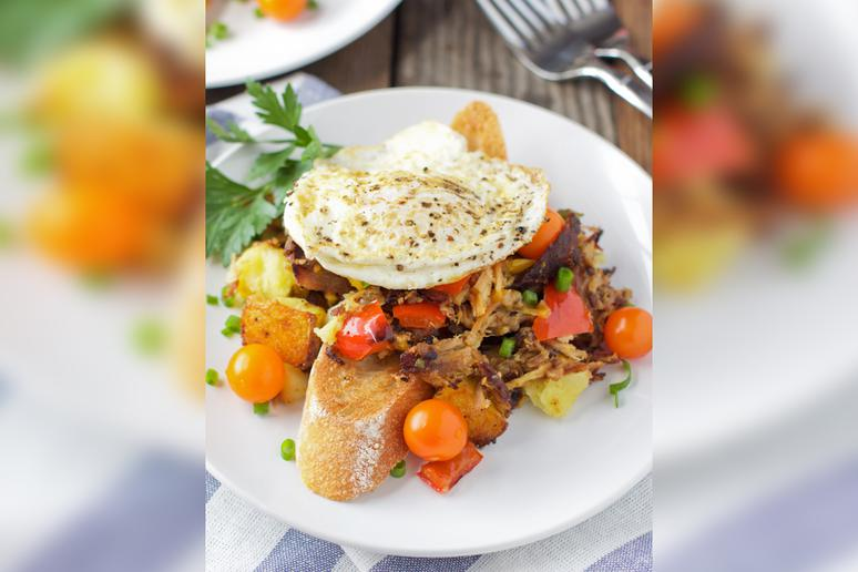 Smoked Pulled Pork Hash