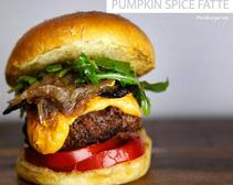 Has it Gone Too Far? Pumpkin Spice Burger Recipe