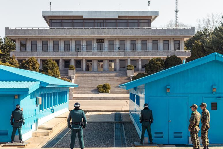 Visiting the DMZ in Korea