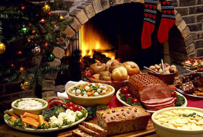 a holiday feast - Restaurants Open For Christmas Dinner
