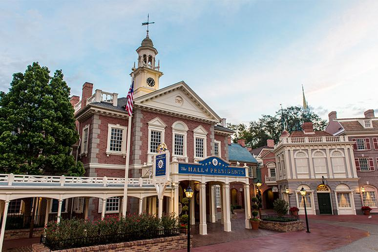 The Hall of Presidents — Magic Kingdom