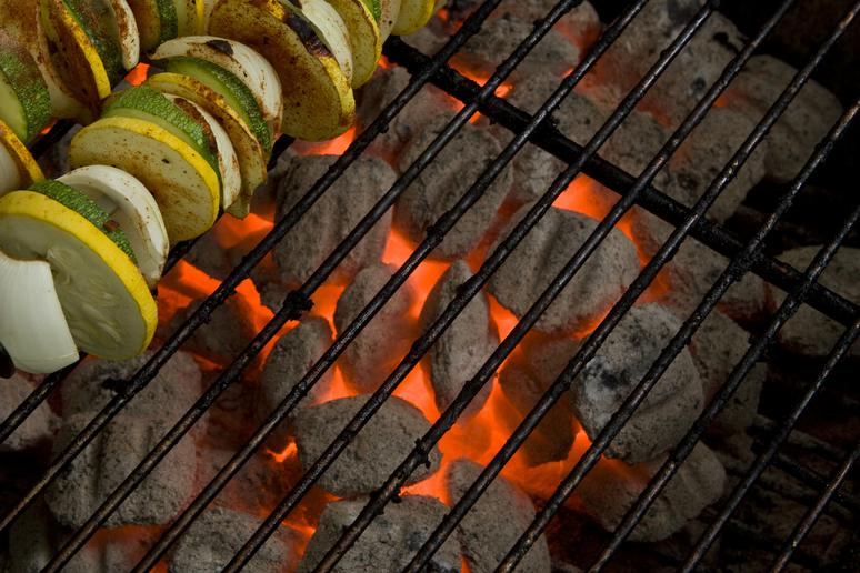 20. Grill out