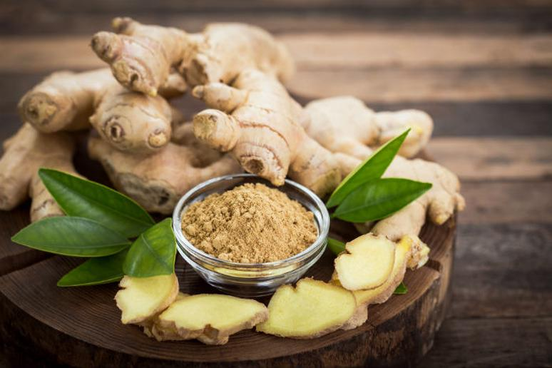 Ginger helps reduce muscle soreness