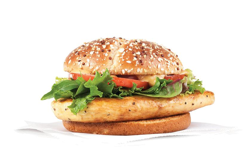 Wendys Grilled Chicken Sandwich