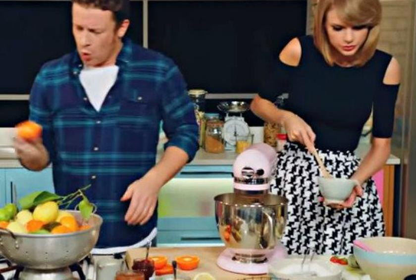 WATCH: Jamie Oliver Parody an Angry Taylor Swift
