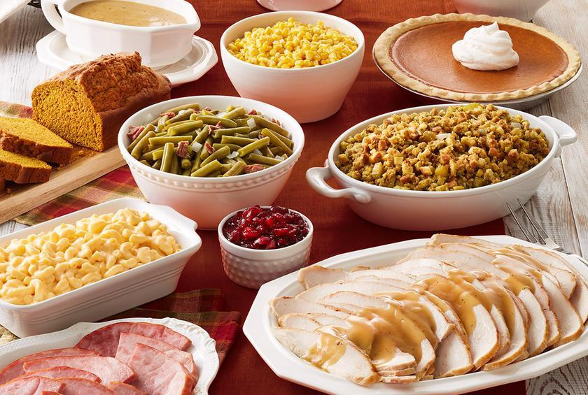 Image result for thanksgiving dinner photos