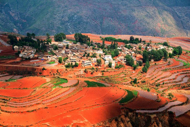 The Dongchuan Red Land, China