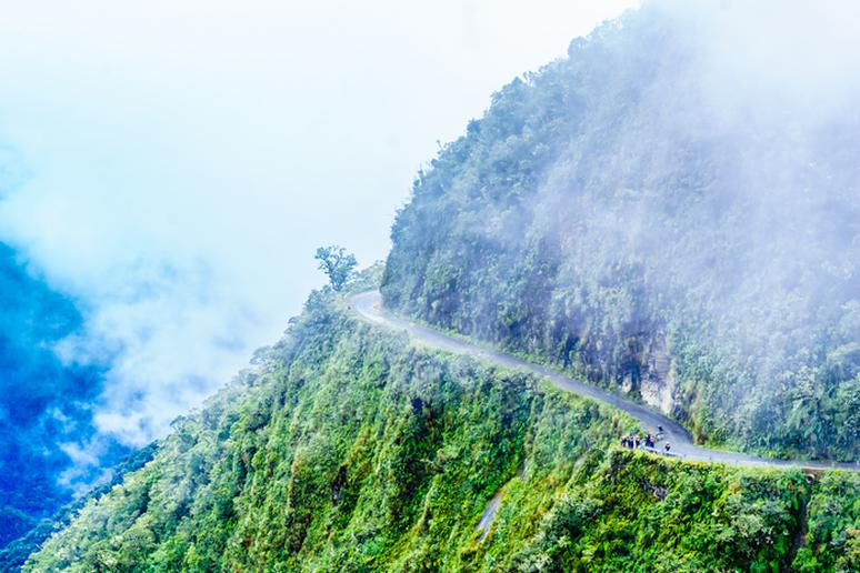 47. Ride the Death Road of Bolivia