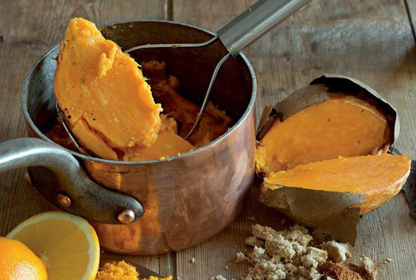 Chili-Spiced Mashed Sweet Potatoes