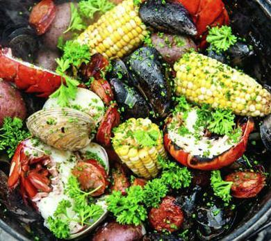 Backyard Clambake on Your Grill