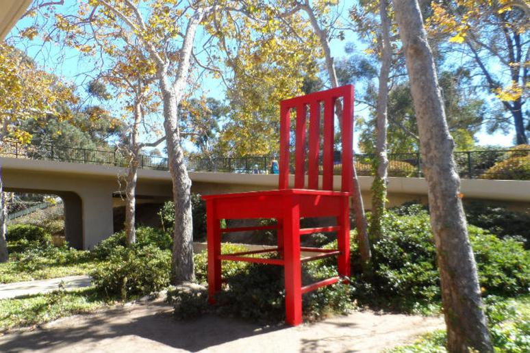 Chair - La Jolla, California