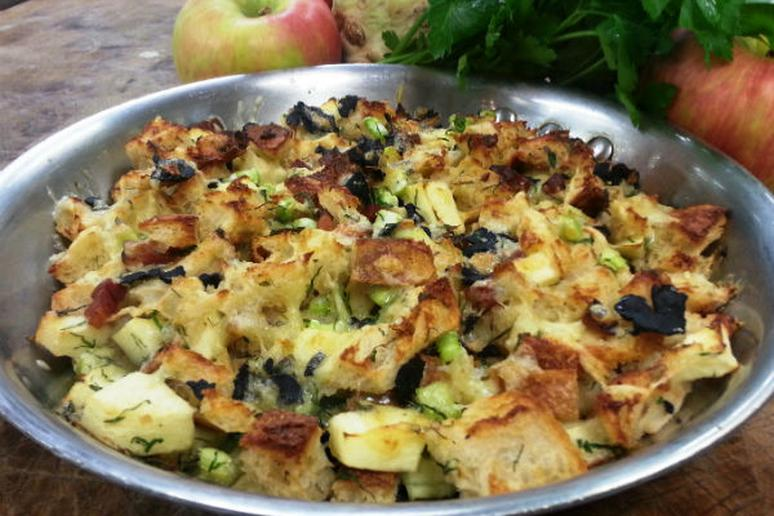 Apple and Truffle Stuffing