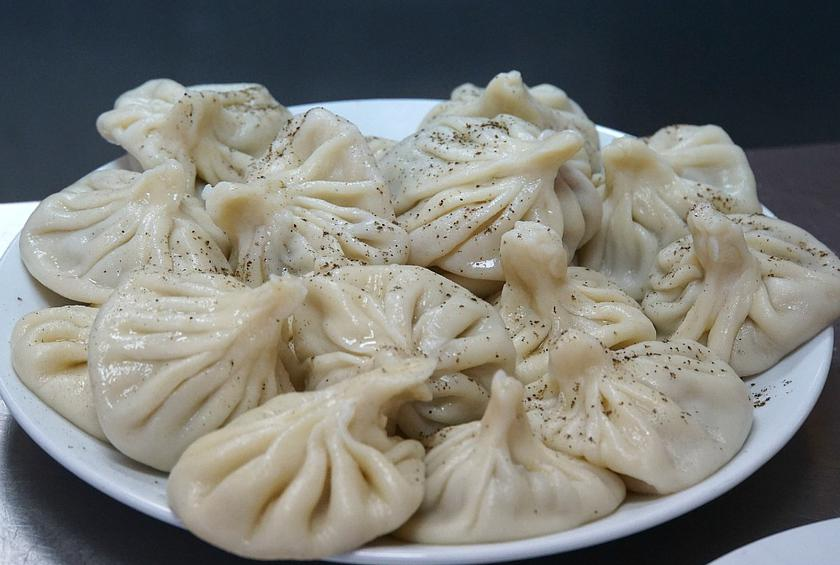 Dumplings, Khinkali, Soup Dumplings, Georgian Cuisine, Beef and Pork Dumplings