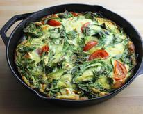 Eggs and Greens Breakfast Skillet